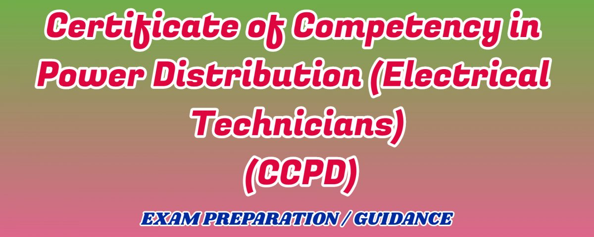 Certificate of Competency in Power Distribution ignou detail