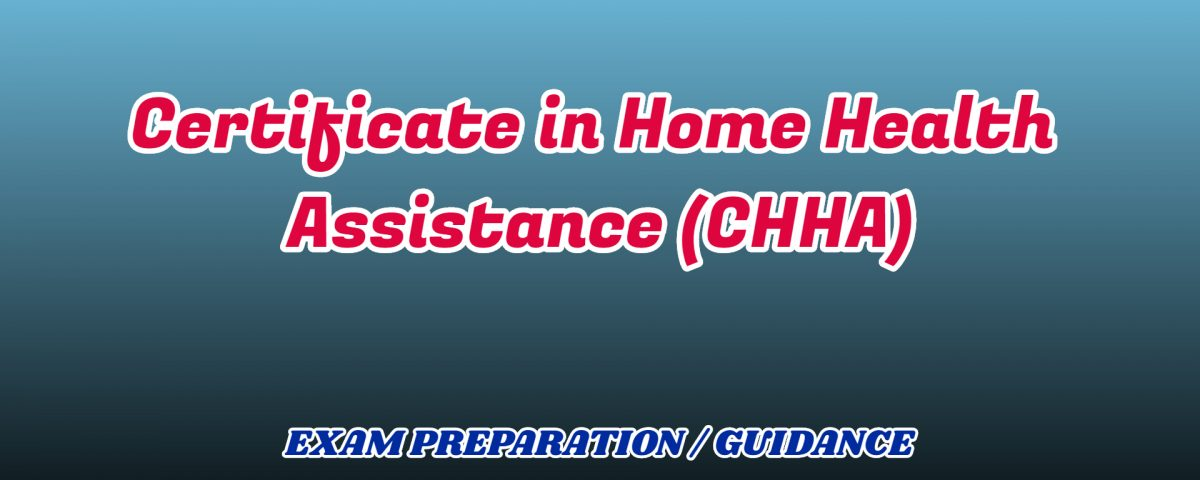 Certificate in Home Health Assistance ignou detail