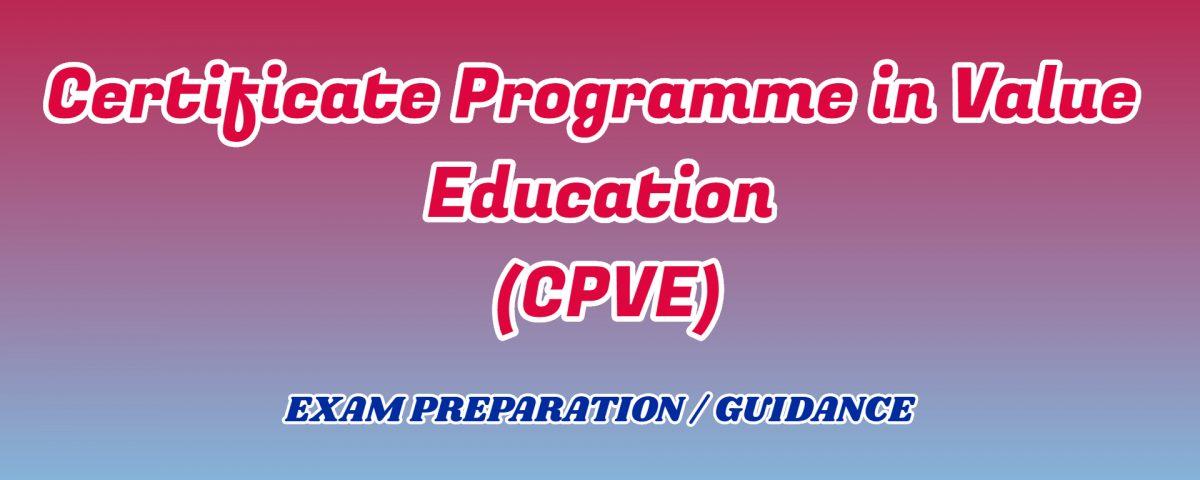 Certificate Programme in Value Education ignou detail