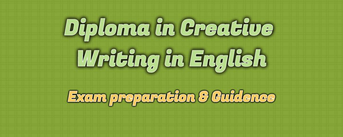 Ignou Diploma in Creative Writing in English