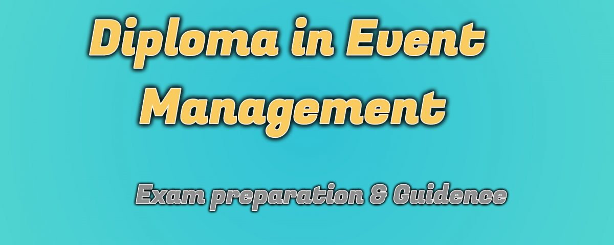 Ignou Diploma in Event Management