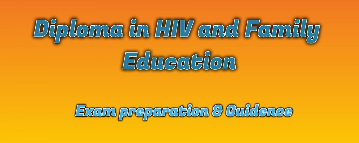 Ignou Diploma in HIV and Family Education