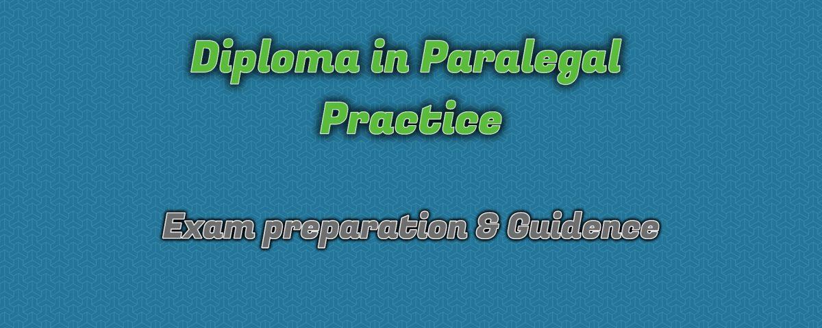 Ignou Diploma in Paralegal Practice