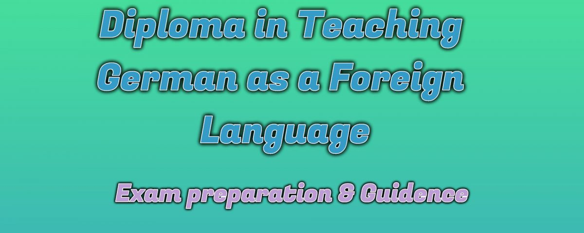 Ignou Diploma in Teaching German as a Foreign Language