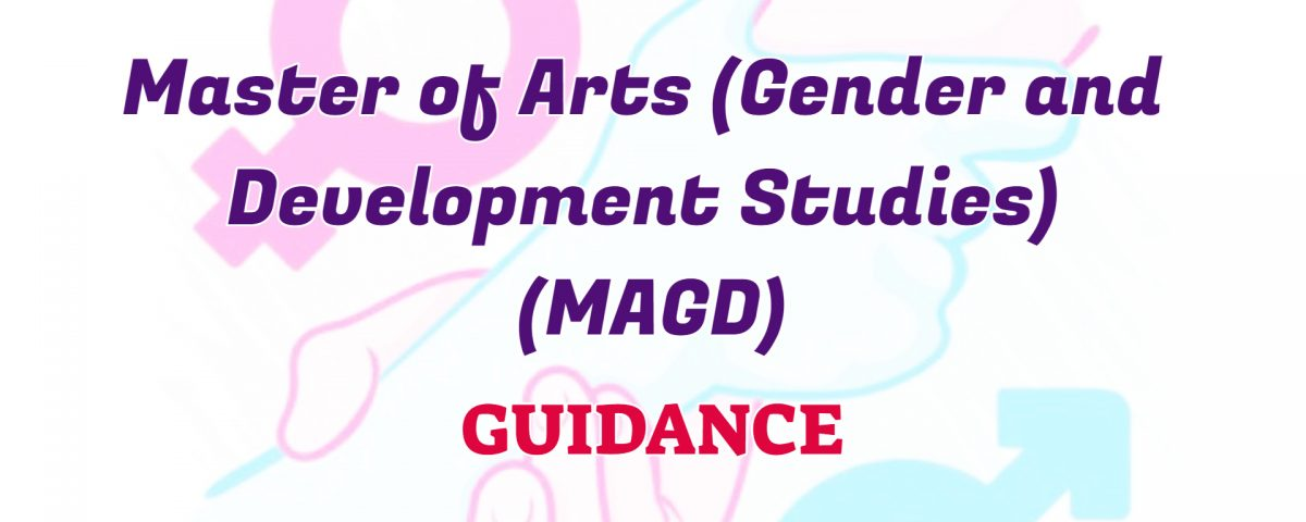 master of arts in gender and development studies ignou guidance