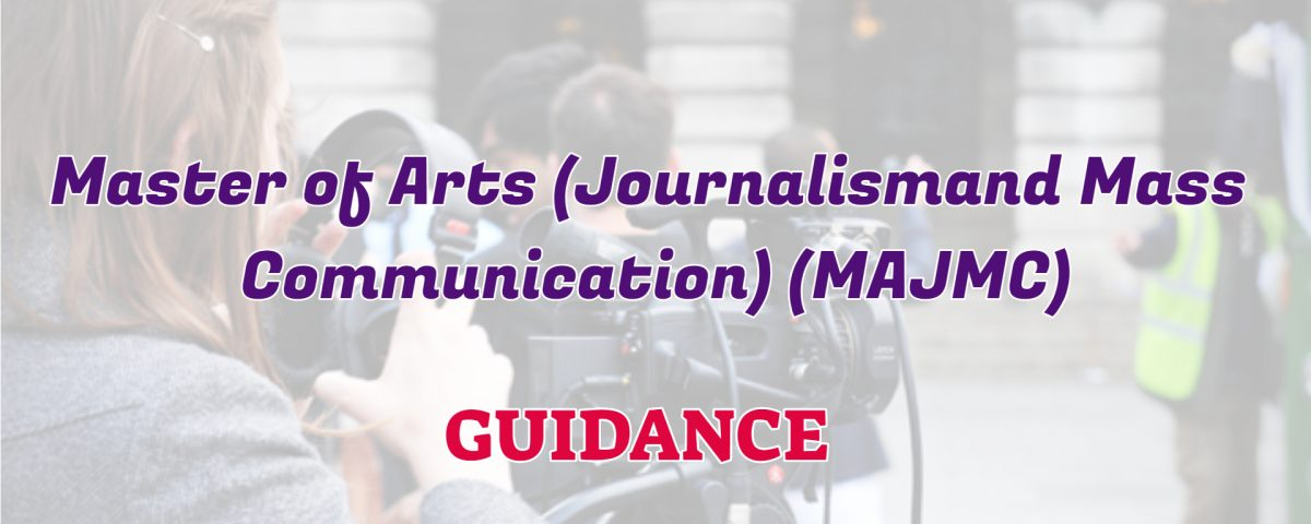 master of arts in journalism and mass communication ignou detail and guidance
