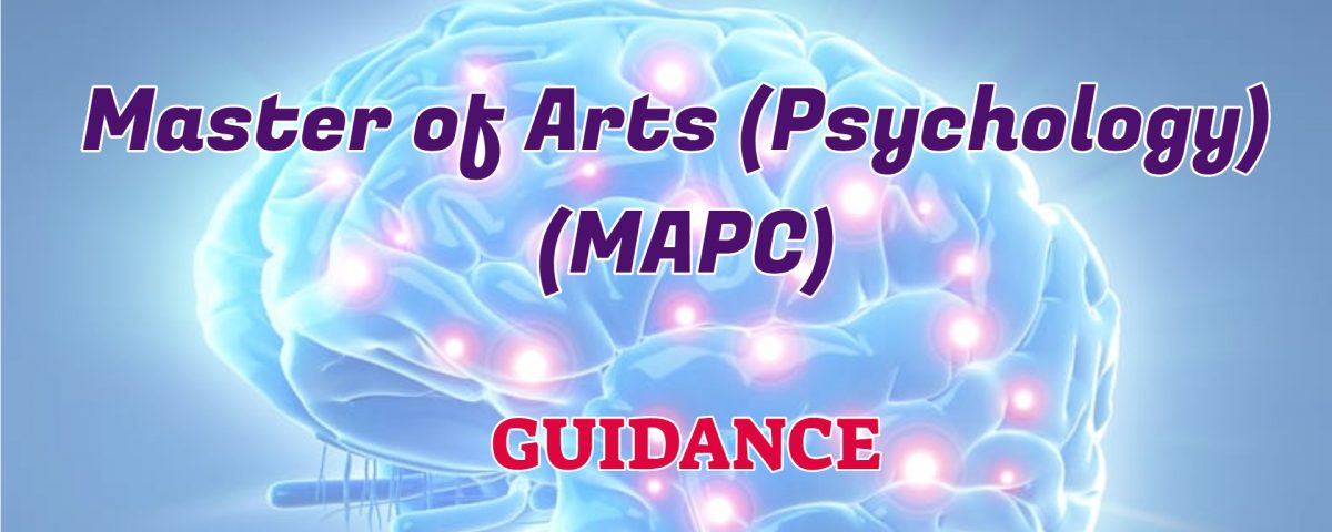 master of arts psychology ignou guidance