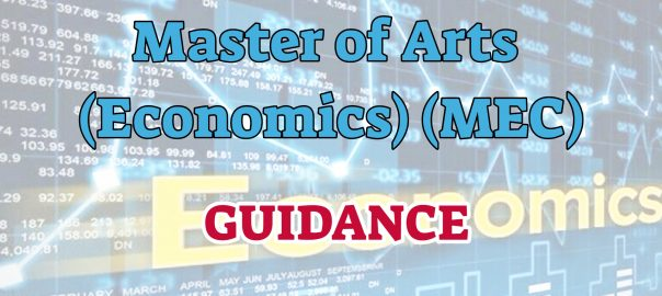 Ignou master of Arts in Economics
