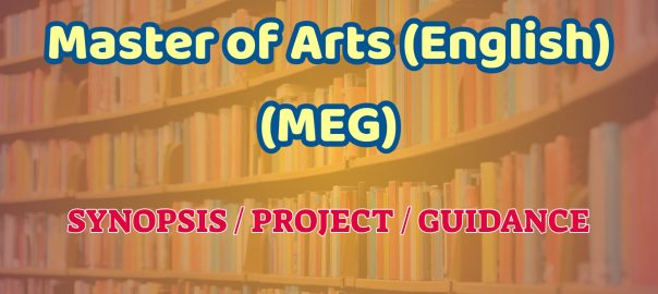 master of arts in english ignou guidance