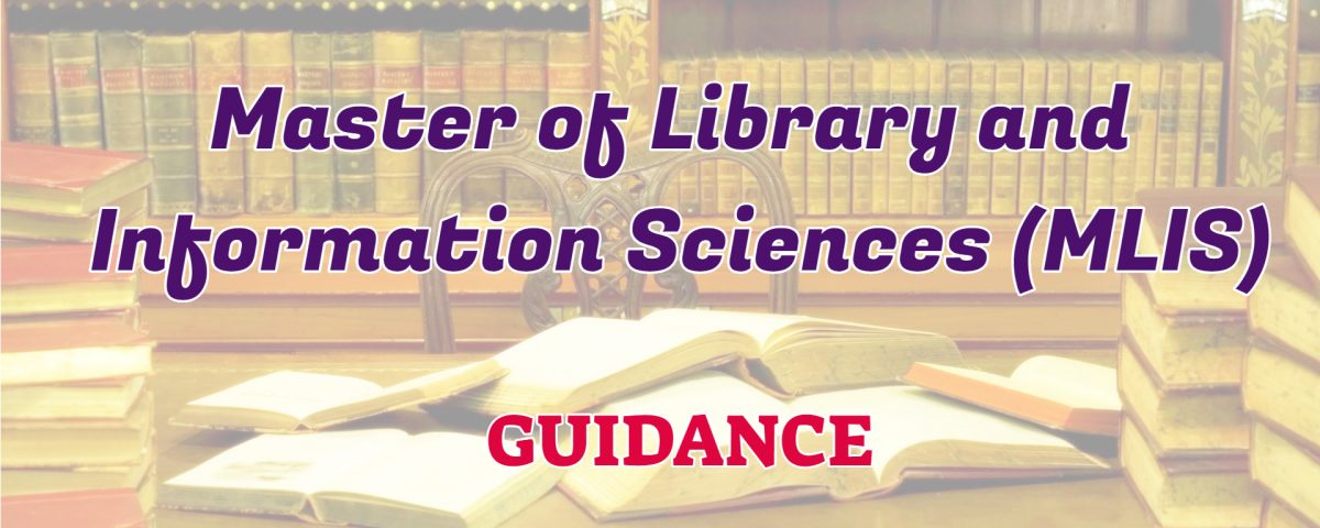 master of library and information science ignou guidance
