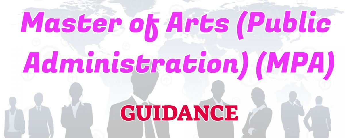 master of arts in public administration ignou guidance