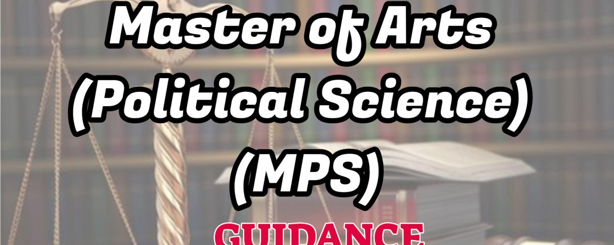 master of arts in political science ignou guidance