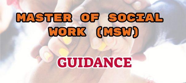 master of social work ignou guidance