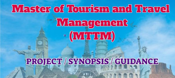 master of travell and tourism guidance ignou