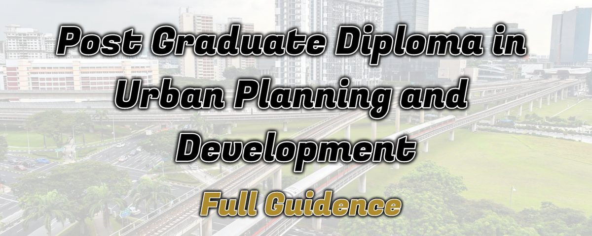 Ignou Post Graduate Diploma in Urban Planning and Development