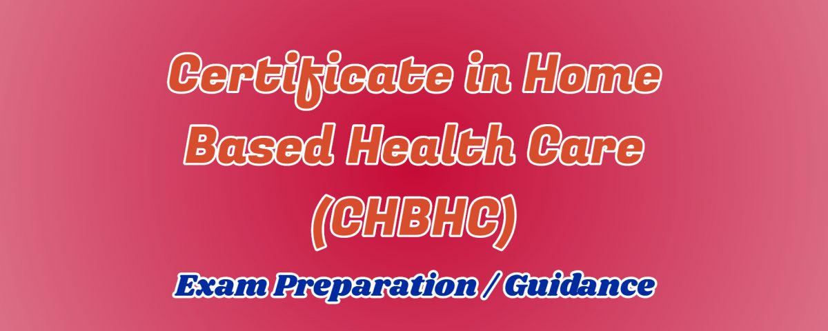 certificate in home based health care ignou