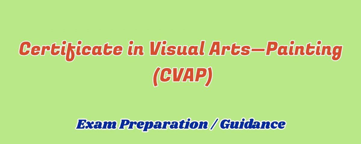 Certificate in Visual Arts Painting ignou