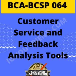 ignou-bca-bcsp064-synopsis-only- Customer Service and Feedback Analysis Tools