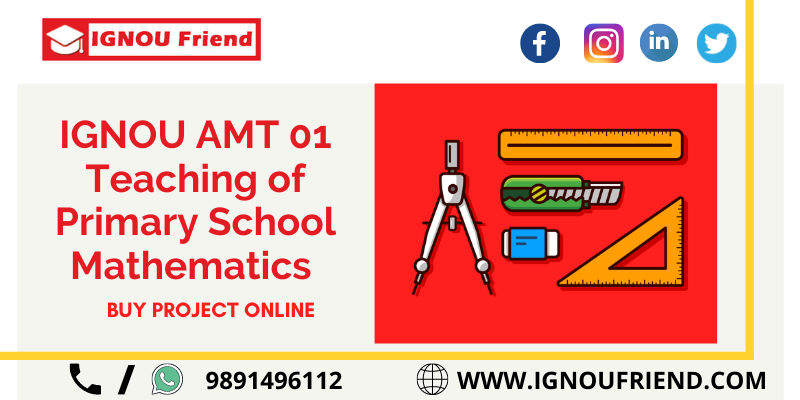 IGNOU AMT 01 PROJECT REPORT PHOTO