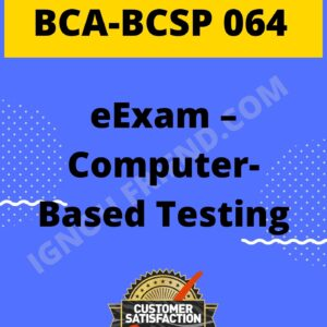 Ignou BCA BCSP-064 Complete Project, Topic - eExam - Computer Based Testing