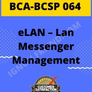 Ignou BCA BCSP-064 Complete Project, Topic - eLAN - Lan Management System